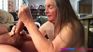 REAL Granny Blows Grandson-OMFG