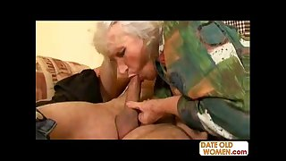 78 years old nasty grandma