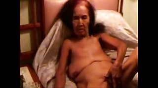 Pervert granny smoking ad masturbating. Amateur