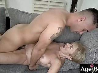Granny Malya enjoyed Mugur's dick