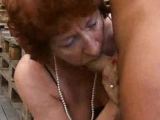 (BBW) Fat Mature - Granny Bangers [German]