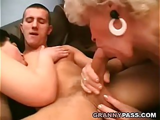 Which Granny Sucks Cock Better?