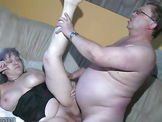 OldNanny Chubby Granny is very horny great threesome