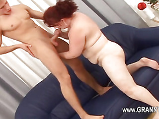 Old mature love blowjob and hardcore erotica