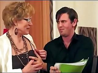 nice hot granny fuck young boy