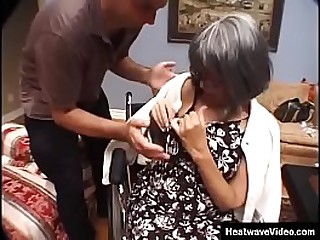 Hey My Grandma Is A Whore #14 - Horny Granny - This old bitch likes it rough!