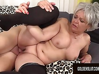 Granny Kelly Leigh Is Horny for a Cock