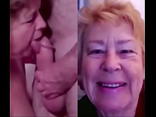 Cock Sucking Cathy UK Porn Granny Sucking off Cock