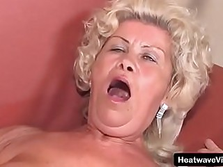 Hey My Grandma Is A Whore #22 - Budai - This old granny never stopped horny and she still has young grandson come over to pump his cock into her ass