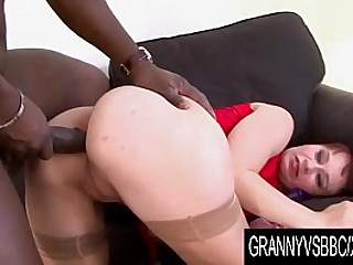 Granny Vs BBC - Vera Delight Ass Pounded