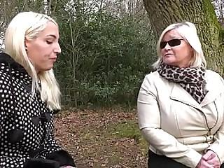 Filthy Granny Fucks Hubby's Secret Girlfriend