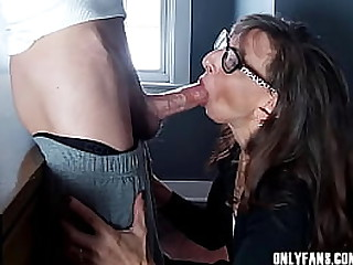 Sexy Milf Marie Big Cock Blowjob Perfection