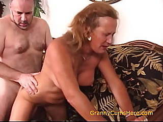 Horny Granny Loves to Bring Out the Cum Part 3
