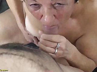 chubby hairy 82 years old granny needs a her strong cock toyboy for a wild fuck lesson