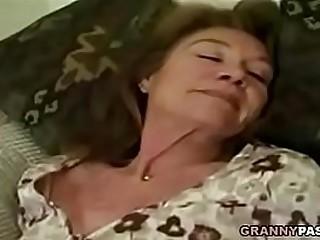 Granny Gangbang With Facial Cumshot