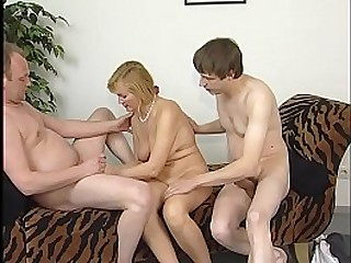Young at heart granny fucks with her friends