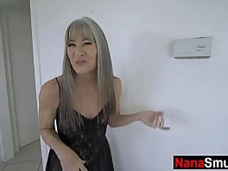 Slim granny loves fucking her step grandosn - Family taboo